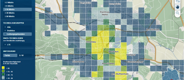 Breitbandinternet in Ilmenau – Status Quo und Ausblick