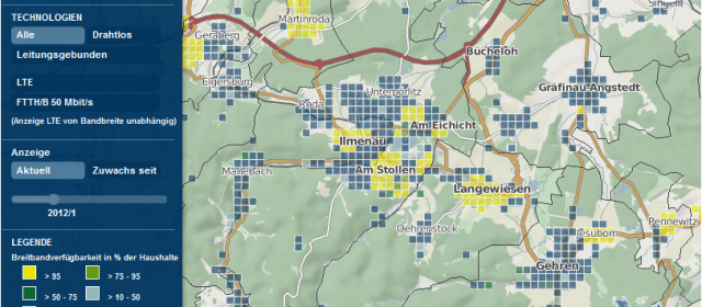 Breitbandausbau in Ilmenau 2017: Status Quo und Ausblick