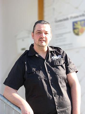 Stadtrat Marko Löhn in Pennewitz